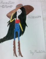 Adventure Time-Marceline's sun outfit by ManatheDMG