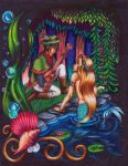 The Minstrel and the Mermaid by Ai-Don