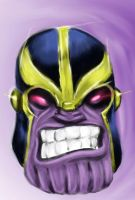 Head of Thanos by Moebocop