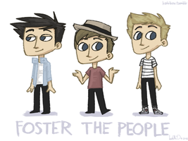 Foster the People by katribou