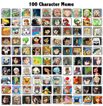My 100 Favorite Characters (New Version) by PokemonXYLover1998