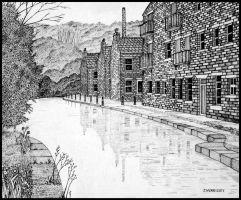 West Yorkshire Scene by PENANDINKDRAWINGS