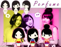 Perfume_Spice_wallpaper by SoraTsukushi