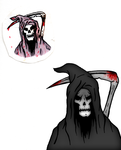 Grim Reaper - Before and After by LivingDeadSuperstar