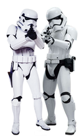 The Stormtroopers of the Empire and First Order by Nerdman3000