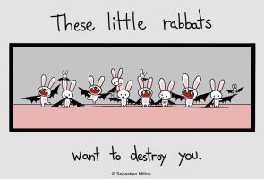 These little rabbats by sebreg