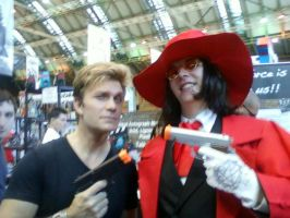 Alucard And Vic Mignogna by TommEdge4Life