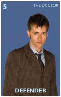 Doctor Who Card Game - The Tenth Doctor by JonHodgson