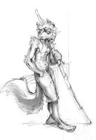 Commision sketch 01 by Lonewolfchan