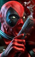 Deadpool by muttleymark