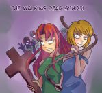 The walking dead school by Riccardo80