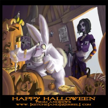 Happy Halloween 2005 by andrewk