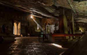 Dambulla Cave 1 by Anantaphoto