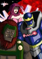Darkseid's Delegates... by adamantis