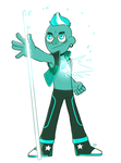 Malachite (Gemsona redesign) by FauxBoy