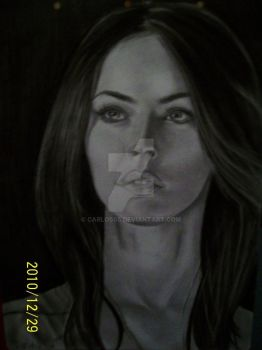 megan fox by carlos05
