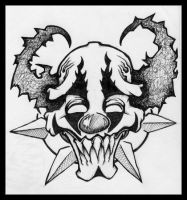 Thee Evile Clown by eduffy