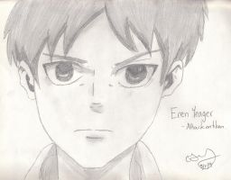 Eren - Attack On Titan - Requested by CJKitty12