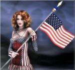 Happy 4th July by Poser4U