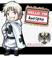 APH- Prussia chibi by Frostpebble
