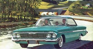 After the age of chrome and fins : 1961 Chevrolet by Peterhoff3