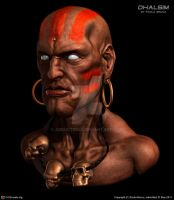 Dhalsim Bust by Abducted47