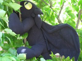Toothless in a tree by T-Nooler
