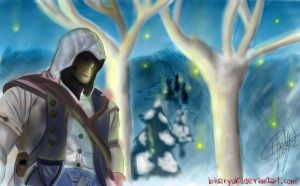 Assassin's Creed 3: In the forest by blueryuk