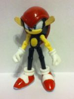 Mighty the Armadillo figure by ArtKing3000