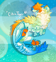 Rare Miikafet Auction! Citric Tiger [OPEN] by AdorkableMarina