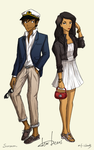 DB - First Date Outfits by Sorcaron