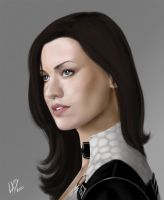 Mass effect 2 Miranda Lawson by Layerx3
