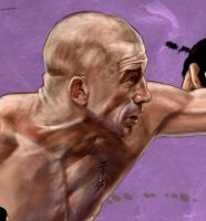 George Rush St Pierre Unleashed close up by Bardsville