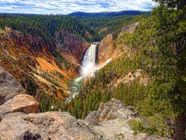 Grand Canyon in Yellowstone by suchaprettytoy