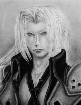Sephiroth FF VII Crisis Core by Eternal-Axis