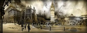 London panorama by HeroinForMyHeroine
