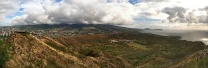 Diamond Head Panorama-1 by iloveoz1125