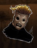 corey taylor_ sketch color by IRLGZZ
