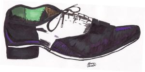 Joker Shoe by MrsJ
