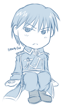 Chibi Roy by Blacky-SC