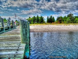 The Pier At Piney Point by jim88bro