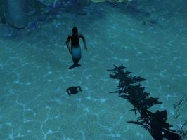 Merman on Sims 3 o3o by youngni