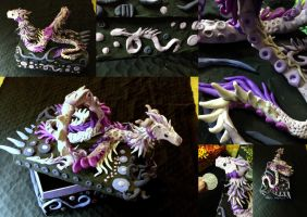 Pnevma - Spirit Dragon on Box - SOLD by SonsationalCreations