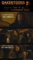 Oakentoon #6: Guaranteed by Thorin by PeckishOwl