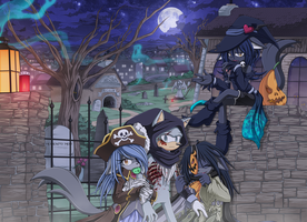 Happy Halloween 2011 by Chibi-Nuffie