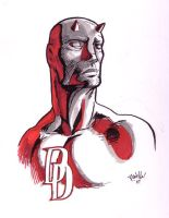Daredevil sketch by Scadilla