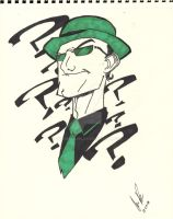 the riddler colored by xx510allen