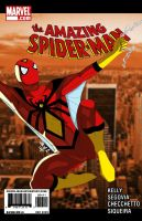 The Amazing Spider-Man Dec2009 by Chizel-Man
