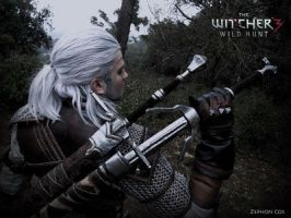 Geralt de riv. / Geralt of rivia by Zephon-cos