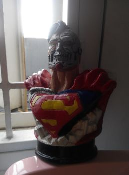 superman statue i Made it for fun. by gombez